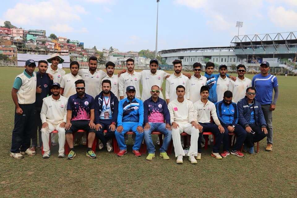 Another Innings defeat for JK Under19 team.